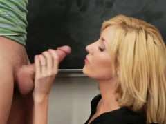 Schoolgirl needs date for the dance and fucks for it